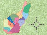 Pocahontas County Voting Precinct Map